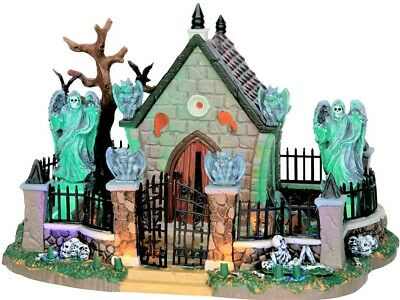 NEW in Box GRAVEYARD SCENE #55907, Lemax Spooky Town, Halloween