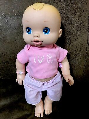 2006 Hasbro Baby Alive Wet N Wiggles GIRL Doll Anatomically Correct RARE