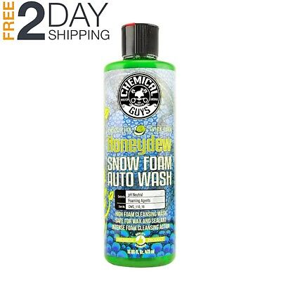 Chemical Guys Honeydew Snow Foam Car Wash Soap and Cleanser Pressure Washer 16Oz
