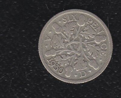 Great Britain 3 Pence 1930 Silver