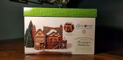 Dept 56 Animated Dickens Village Series Fezziwig's Ballroom #58470