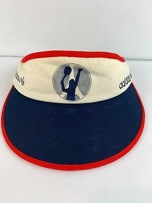 d69f1334c7f VINTAGE ADIDAS VTG Visor Embroidered Logo Hat Cap Old School Leaf ...