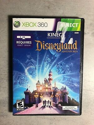 XBOX 360 KINECT DISNEYLAND ADVENTURES  Disc Only
