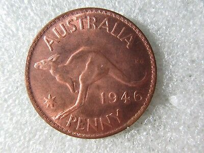 1946   PENNY   1  COIN    a good attempt at making this coin