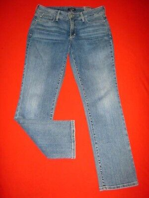 Womens Nydj Not Your Daughters Jeans Size 10 P Straight Leg Marilyn