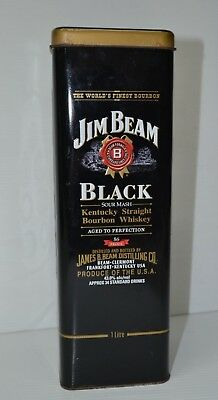 Jim Beam Black Bourbon 7 Generations Of Family Distillery's Collectors Tin