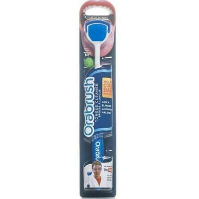 Orabrush Tongue Cleaner Fresh Breath Brush With Scraper X 4 Pack