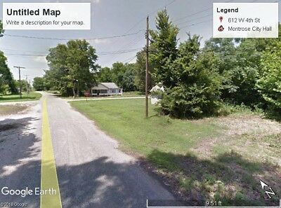 No Reserve- Lot With Power, Water And Gas- Montrose Arkansas