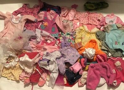 Doll Clothes - Baby Dolls, Some Vintage Size S To M 40+