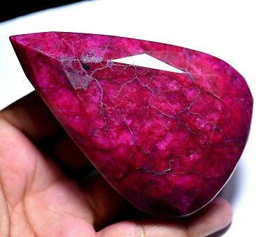 520.00 Ct  Natural HUGE Blood Red Ruby GGL Certified Mozambique Loose Gemstone