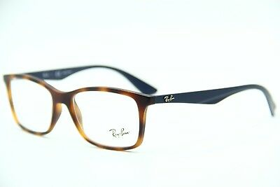 e2b8a440a95 New Ray-Ban Rb 7047 5574 Havana Eyeglasses Authentic Frame Rx Rb7047 54-17