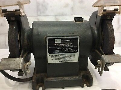 Pleasant Vintage Sears Craftsman 5 Bench Grinder Usa 13 99 Picclick Gmtry Best Dining Table And Chair Ideas Images Gmtryco