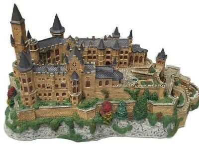 1994 DANBURY MINT Enchanted Castles Europe VERY Rare HOHENZOLLERN CASTLE Germany