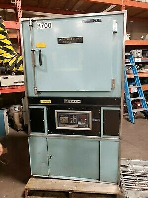 """Blue M Electric Convection Oven 650 Degrees 20"""" X 20"""" X 25"""" Id Single Phase"""