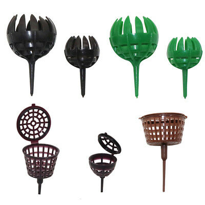 5 Pcs Plastic Fertilizer Basket Garden Plant Bonsai Automatic Fertilization Tool
