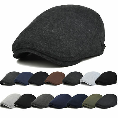 Casual Men Women Ivy Gatsby Cap Golf Driving Sun Flat Cabbie Newsboy Beret Hat