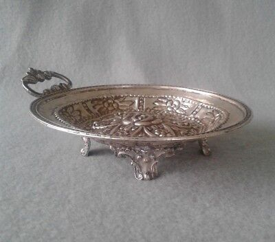 18th Century Fine Spanish Colonial Silver Footed Dish ~ Exceptional!
