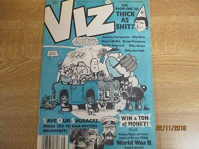 1989, VIZ COMIC 38, David Hamilton, Paul Daniels, Donna Summer, Napalm Death.
