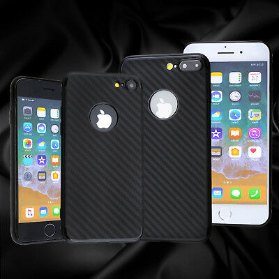 Luxury Carbon Fibre Bumper TPU Back Case Cover Supply For Apple iPhone 7