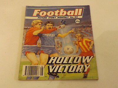 FOOTBALL PICTURE LIBRARY,NO 94,1990 ISSUE,GOOD FOR AGE,28 yrs old,V RARE COMIC.