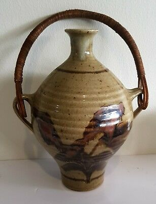 Vintage Christopher Clouston Pottery Decanter.