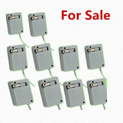 10pcs For Nintendo NDSi XL/L 3DS New Travel AC Adapter Home Wall Charger Lot ER