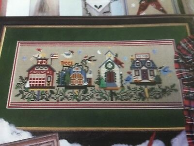 Mill Hill Spirit of Christmas cross stitch pattern booklet