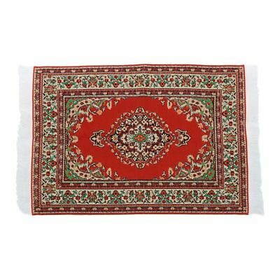 2X(Doll House Miniature Carpet Rug Interior Modelling---23.5 x 14.8cm F5W2)