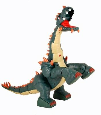 Fisher-Price SPIKE DINOSAUR with Remote, Charger, Battery, Rocks & Bone - VGC