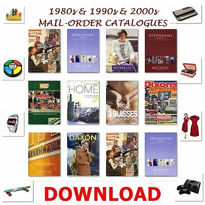 1980s & 1990s & 2000s Mail-Order Catalogues Download Pdf
