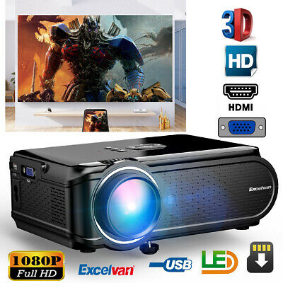 3000 lumens 1080P HD LCD Proyector Multimedia LED Home cinema Video Projector