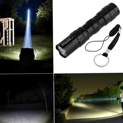 AAB0 Tragbar Superhell 3W Police Flashlight Wasserdicht LED Mini Taschenlampen