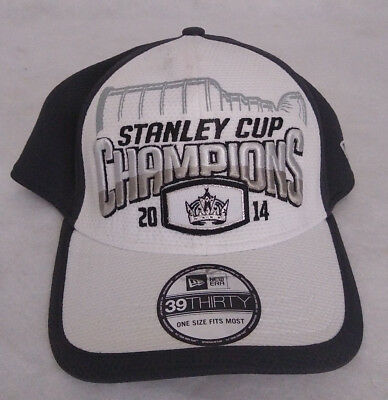 892c75d16 Los Angeles Kings 2014 NHL Stanley Cup Champions Stretch Fit Hat Cap New Era