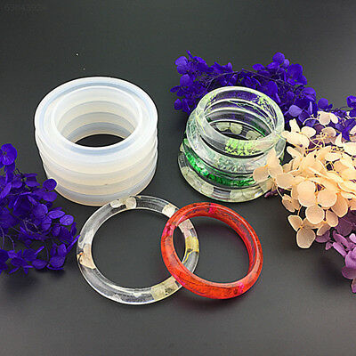 61CA Silikonform Schmuckgießform Gießform silicone mould DIY für bangle Armband.