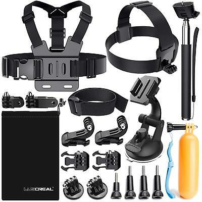 Luscreal Accessories For Gopro, Action Camera Kit Go Pro Hero 7