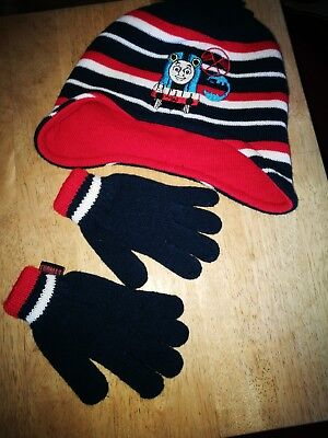 Childs Hat And Gloves Set
