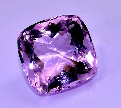 VVS 92.30 Ct Natural Pink Amethyst GGL Certified AAA+ Quality Luster Gem Stone