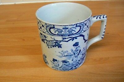 Adams Antique William Adams Blue And White Tokio Large Mug Tankard C1896-1914 Tokyo Pottery, Porcelain & Glass