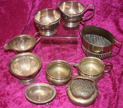 Job Lot of Silver Plate Items From House Clearance.