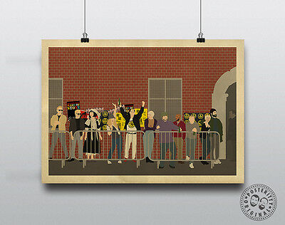 THIS IS ENGLAND - Minimalist Poster Wall Art Posteritty Meadows Milky Lol Woody