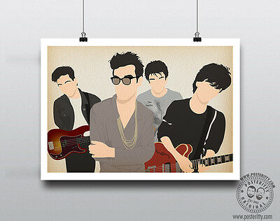 THE SMITHS Minimalist Band Poster Silhouette Music Minimal Morrissey Marr Rourke
