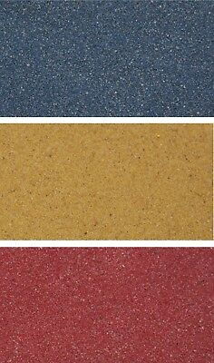 Unipac Coated AQUARIUM SAND Red Blue Yellow Fish Tank Substrate 2kg 10kg 20kg