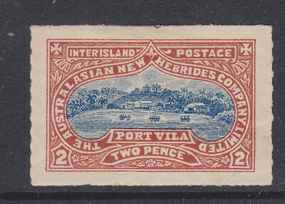 New Hebrides  Australian New Hebrides Company 2pence stamp MH