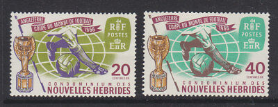 New Hebrides 1962 World Cup french MNH