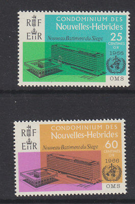 New Hebrides 1966 WHO french MNH