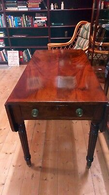 A Beautiful Regency William Iv Flame-Mahogany Table. Circa 1820