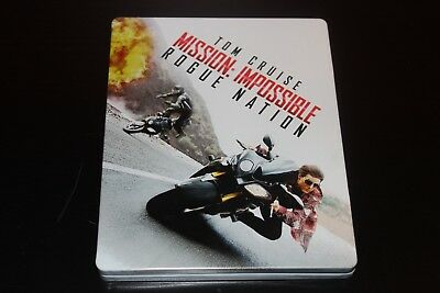 Mission Impossible Rogue Nation - Best Buy Canada Steelbook Blu-Ray DVD