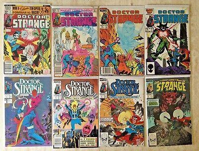 Doctor Strange: Lot Of 21 From 1974 And 1988 Series   Fn To Vf