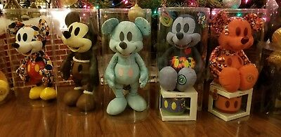 Mickey mouse memories plush December , SET OF P12 CASES