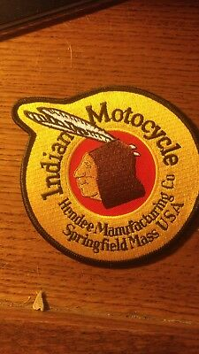 INDIAN MOTOCYCLE NOS VINTAGE embroidered patch